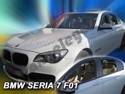 Deflektory na okná pre BMW 7 F01, 4ks