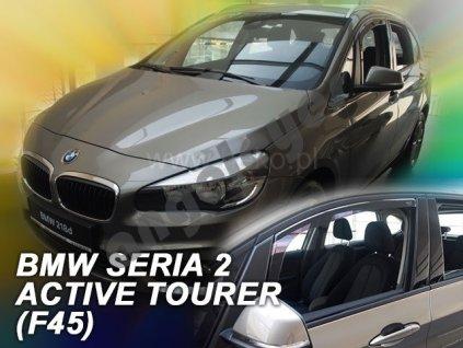 Deflektory na okná pre BMW 2 F45 Active Tourer, 2ks