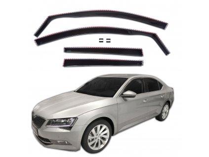 Deflektory na okná pre Škoda Superb 3 LTB
