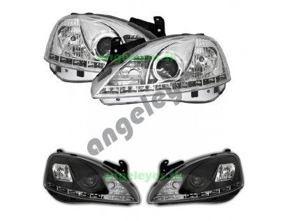 Corsa C od rv 00-06 predné LED svetlá