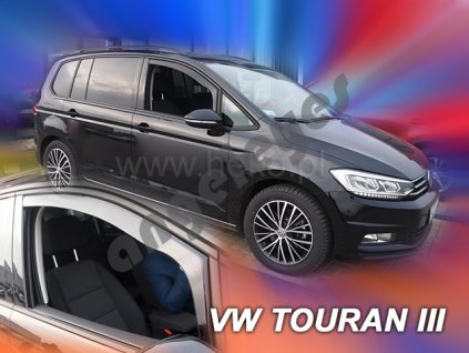 Deflektory na okná pre VW Touran, 2ks