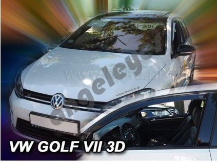 Deflektory na okná pre VW Golf 7, 2ks
