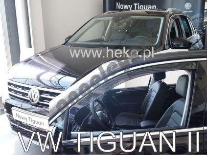 Deflektory na okná pre VW Tiguan 2, 2ks
