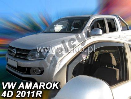 Deflektory na okná pre VW Amarok, 2ks od rv. 2009-