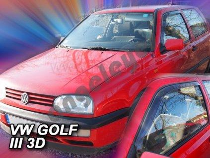 Deflektory na okná pre VW Golf 3, 2ks