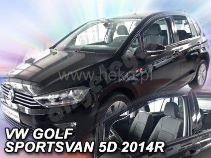 Deflektory na okná pre VW Golf Sportsvan, 4ks
