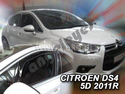 Deflektory na okná pre Citroen DS4, 2ks