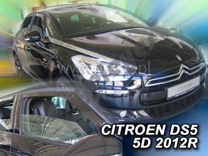 Deflektory na okná pre Citroen DS5, 2ks