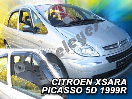 Deflektory na okná pre Citroen Xsara Picasso, 4ks
