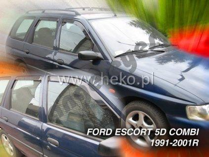 Deflektory na okná pre Ford Escort Combi, 4ks