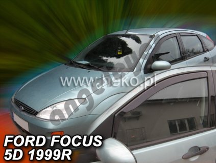 Deflektory na okná pre Ford Focus, 2ks