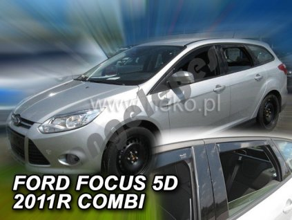 Deflektory na okná pre Ford Focus III Combi, 4ks