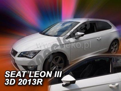 Deflektory na okná pre Seat Leon 3 5F, 2ks