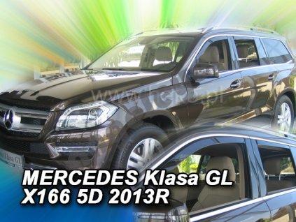 Deflektory na okná pre Mercedes GL X166, 4ks