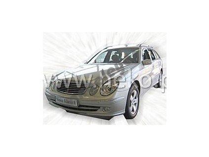 Deflektory na okná pre Mercedes E W211, 2ks