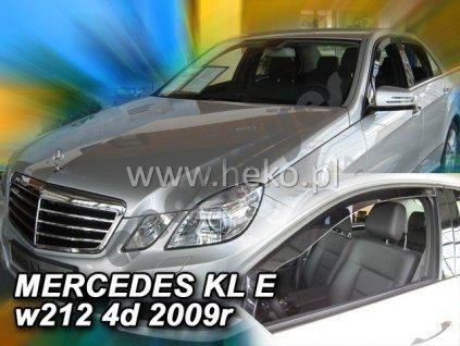 Deflektory na okná pre Mercedes E W212, 2ks
