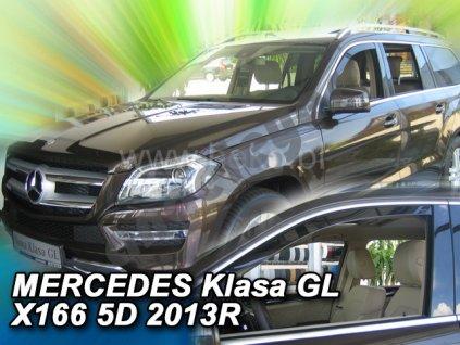 Deflektory na okná pre Mercedes GL X166, GL, M W166,