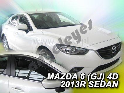 Deflektory na okná pre Mazda 6 GJ, 4ks