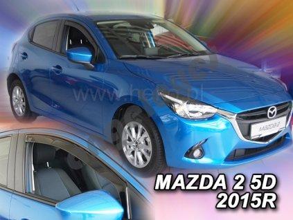 Deflektory na okná pre Mazda 2, 2ks