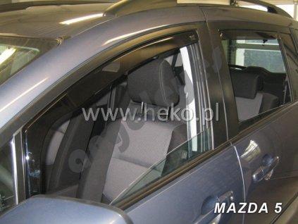Deflektory na okná pre Mazda 5, 4ks