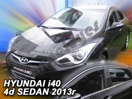 Deflektory na okná pre Hyundai i40, 4ks