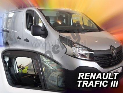 Deflektory na okná pre Renault Trafic 3/Opel Vivaro 2, 2ks