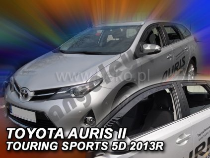 Deflektory na okná pre Toyota Auris 2, 2ks
