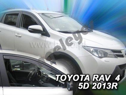 Deflektory na okná pre Toyota RAV4, 4ks