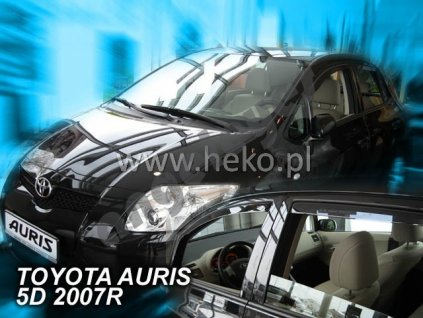 Deflektory na okná pre Toyota Auris 1, 4ks