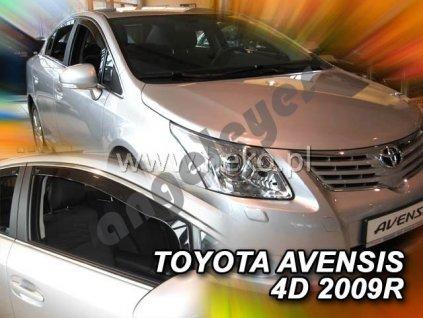 Deflektory na okná pre Toyota Avensis 3 (T27), 2ks