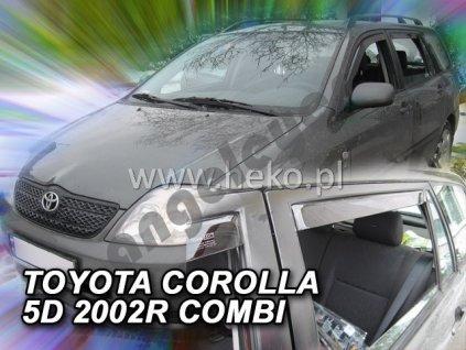 Deflektory na okná pre Toyota Corolla E12 Combi, 4ks