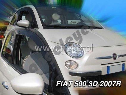 Deflektory na okná pre Fiat 500, 2ks