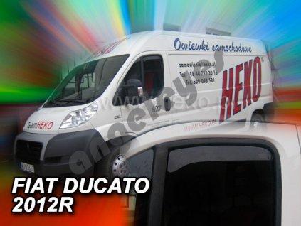 Deflektory na okná pre Peugeot Boxer/Fiat Ducato/Citroen...