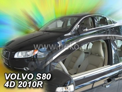 Deflektory na okná pre Volvo S80, XC70, 2ks