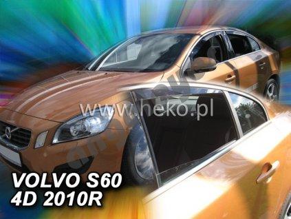 Deflektory na okná pre Volvo S60, 2ks
