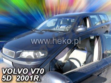 Deflektory na okná pre Volvo V70/XC70, 2ks