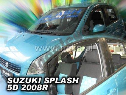 Deflektory na okná pre Suzuki Splash, 2ks