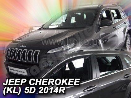 Deflektory na okná pre Jeep Cherokee KL, 4ks