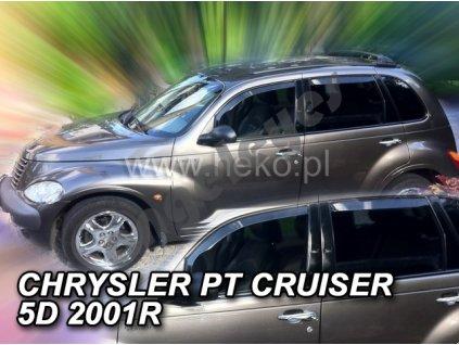 Deflektory na okná pre Chrysler PT Cruiser, 4ks