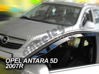 Deflektory na okná pre Opel Antara, 2ks