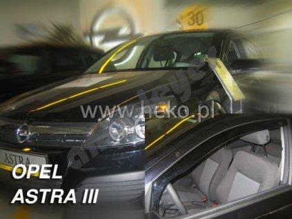 Deflektory na okná pre Opel Astra H, 4ks