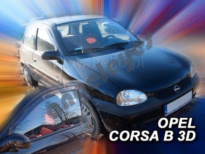 Deflektory na okná pre Opel Corsa B, 4ks