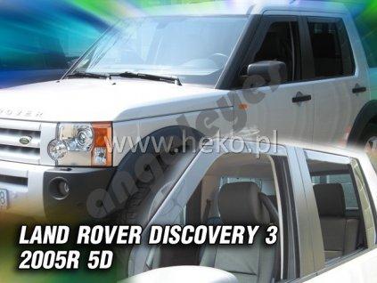 Deflektory na okná pre Land Rover Discovery 3, 4ks