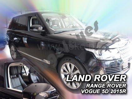 Deflektory na okná pre Land Rover Range Rover Vogue, 4ks