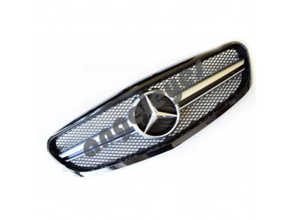Mercedes C W205 predná maska AMG, čierna
