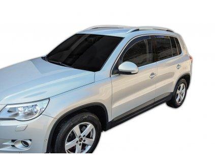 Deflektory na okná pre VW Tiguan 1, 4ks rv. 2007-2015