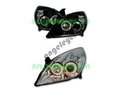 Opel Signum predné svetlá Angel Eyes, rv 05-