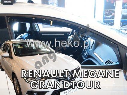 Deflektory na okná pre Renault Megane 4 Grandtour, 2ks