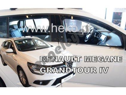 Deflektory na okná pre Renault Megane 4 Grandtour, 4ks