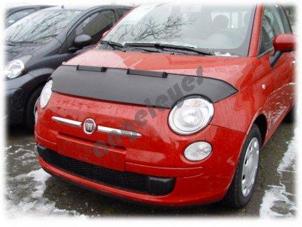 Fiat 500 kožený kryt kapoty